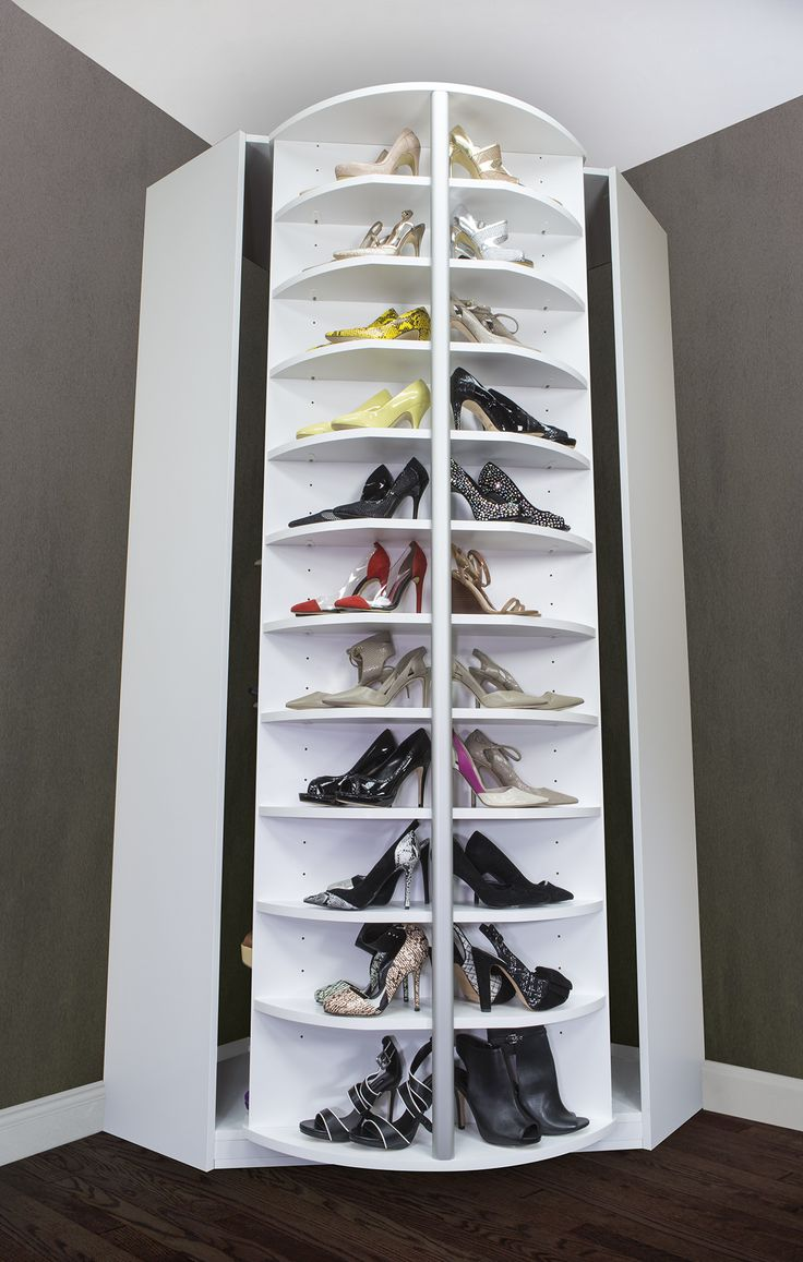 ... Revolving Shoe Cabinets ... & 25 Handy Shoe Storage Ideas For Effective Space Management