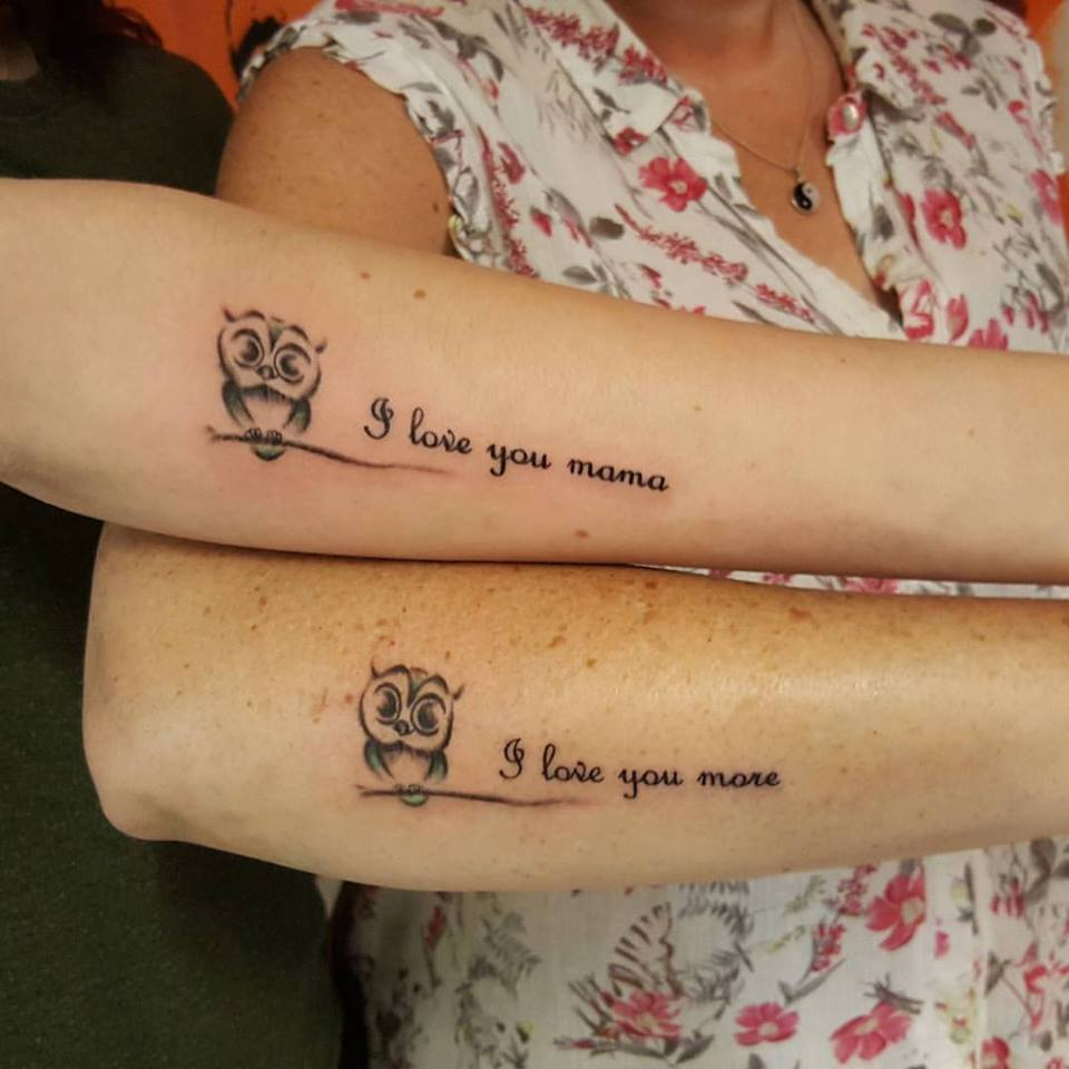 55 Best Mother Daughter Tattoos For Someone Special In: 51 Extremely Adorable Mother-Daughter Tattoos To Let Your