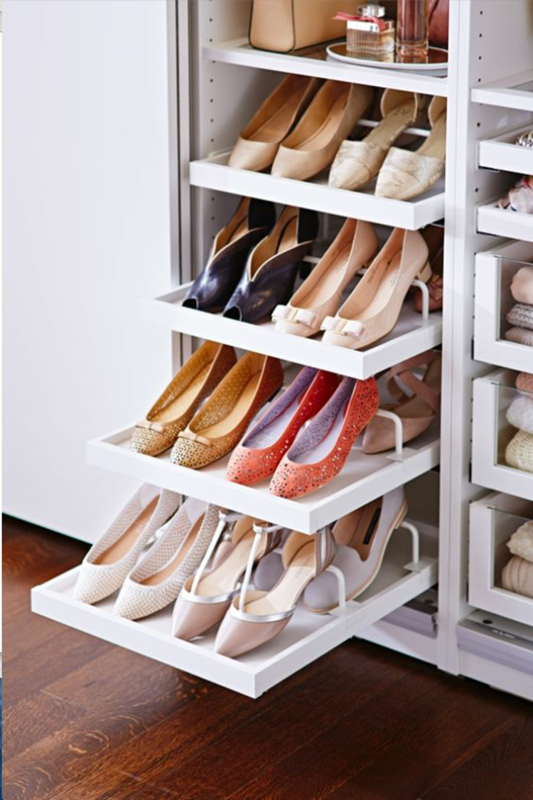 25 Handy Shoe Storage Ideas For Effective Space Management