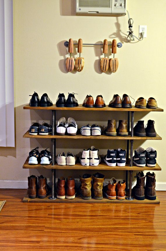 fulllength mirror shoe racks ideas