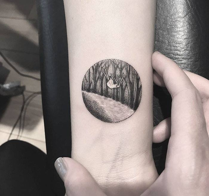 40 Circle Tattoo Ideas That Can Depict Your Whole