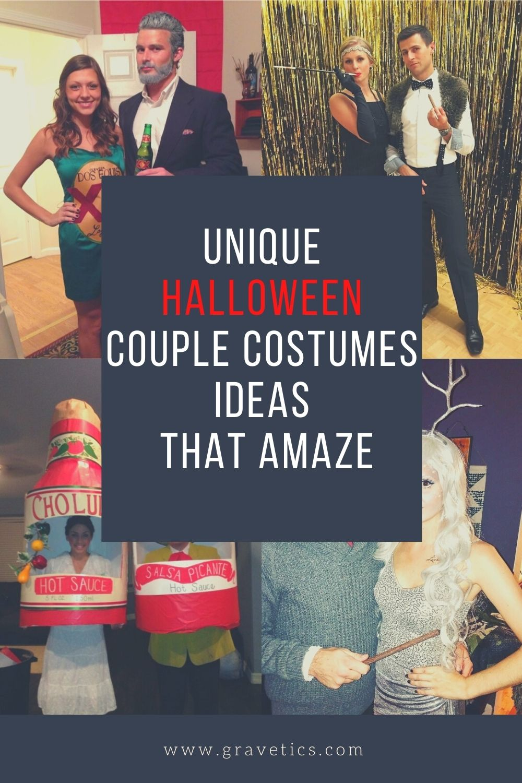 Unique Halloween Couple Costumes Ideas That Amaze