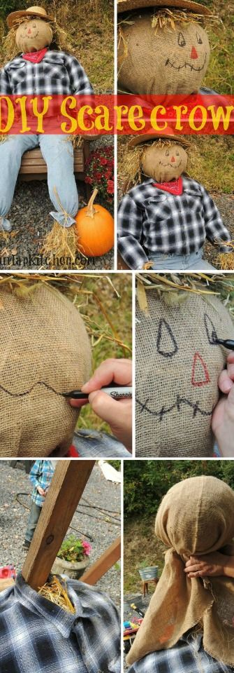 35 Unique Diy Scarecrow Ideas For Kids To Make This Halloween More Fun