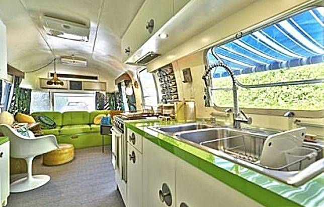 A Classic Airstream Interior.