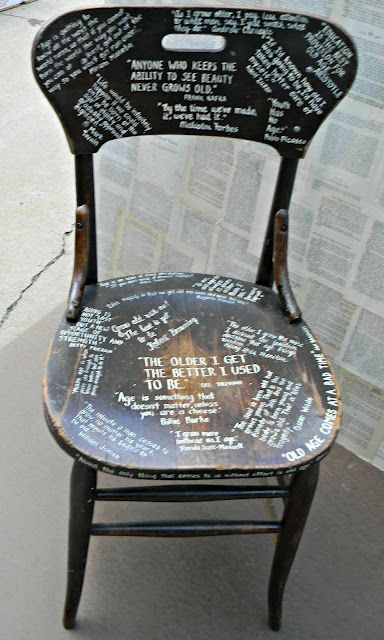 An-old-chair-painted-with-lots-of-fun-sayings. Painted Kitchen Walls Ideas on kitchen paint color ideas, painted hallway ideas, kitchen painting and decorating ideas, painted floor ideas, painted kitchen diy, painted refrigerator ideas, painted kitchen french country, dining room paint ideas, bedroom wall ideas, painted doors ideas, painted living room ideas, orange kitchen paint ideas, painted cabinets ideas, zen kitchen design ideas, living room wall ideas, painted backsplash ideas, painted wood paneling ideas, painting your kitchen ideas, painted kitchen decorating,