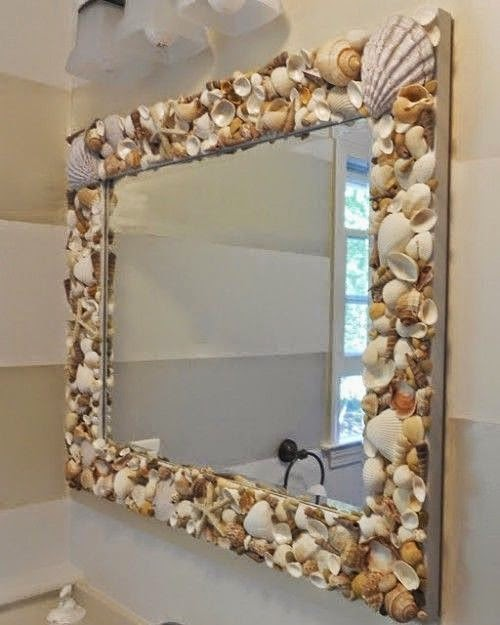 Bathroom Ideas: 45 Best Seashell Project Ideas To Keep The Vacay Mode On