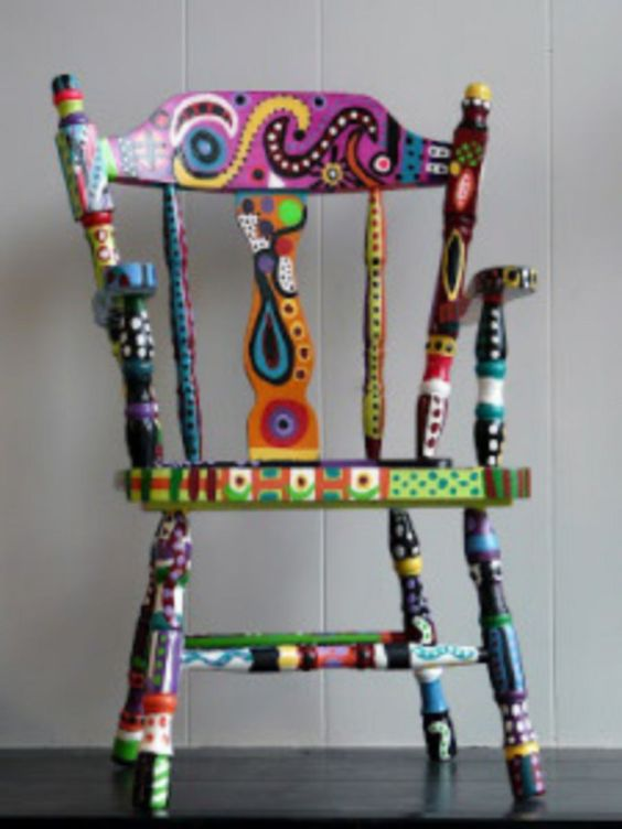 Superieur ... Beautiful DIY Painted Chair Designs Ideas ...
