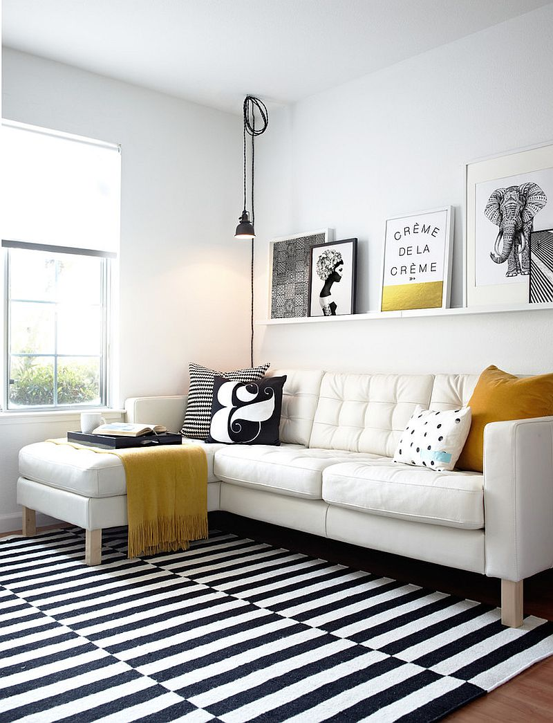 Black And White Design Living Rooms