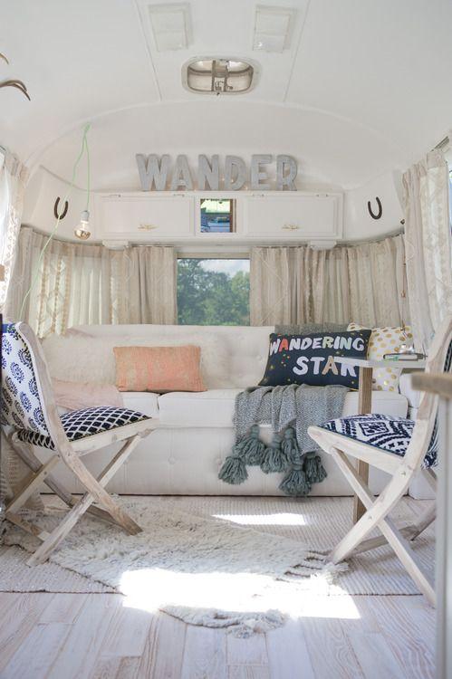 35 Stylish And Gorgeous Airstream Interior Design Ideas
