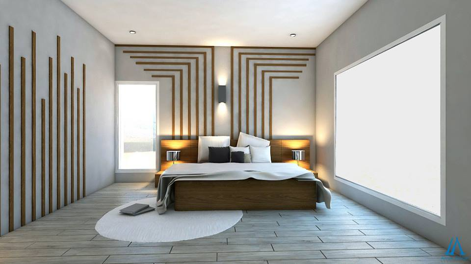 Attractive ... Contemporary Master Bedroom Design ...