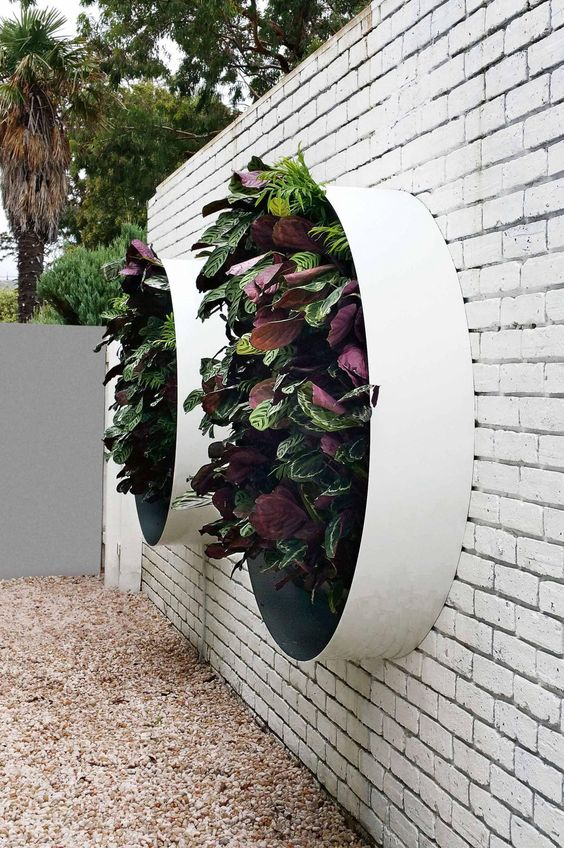 Inspiring Exterior Wall Light Fixtures 2017 Design: 40 Innovative DIY Wall Gardens Outdoor Design Ideas To