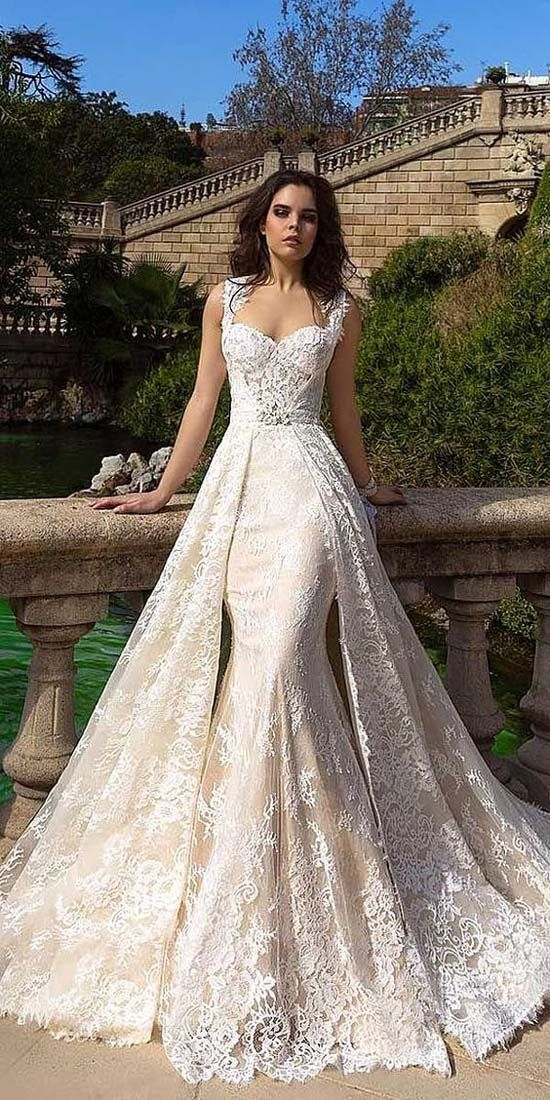 30+ Stunning and Awe-Inspiring Crystal Design Wedding Dress 2019 ...