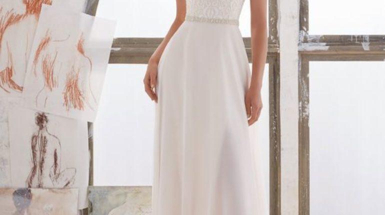 30+ Stunning and Awe-Inspiring Crystal Design Wedding Dress 2017 ...