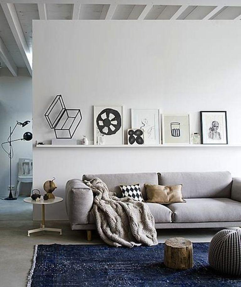 Distinctive Scandinavian Living Room