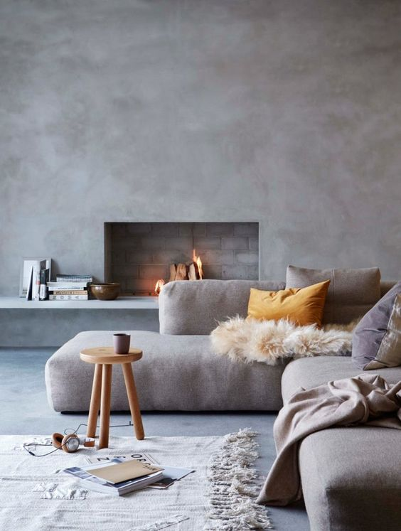 Flawlessly Incorporating Spring's Concrete Trend Concrete