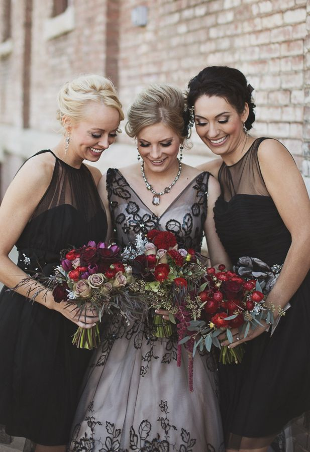 Halloween Bridesmaid Costumes.40 Fascinating Halloween Wedding Ideas For Unforgettable