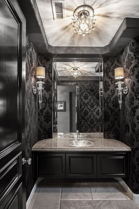 36 Dramatic Home Gothic D 233 Cor Design Ideas That Reek Of