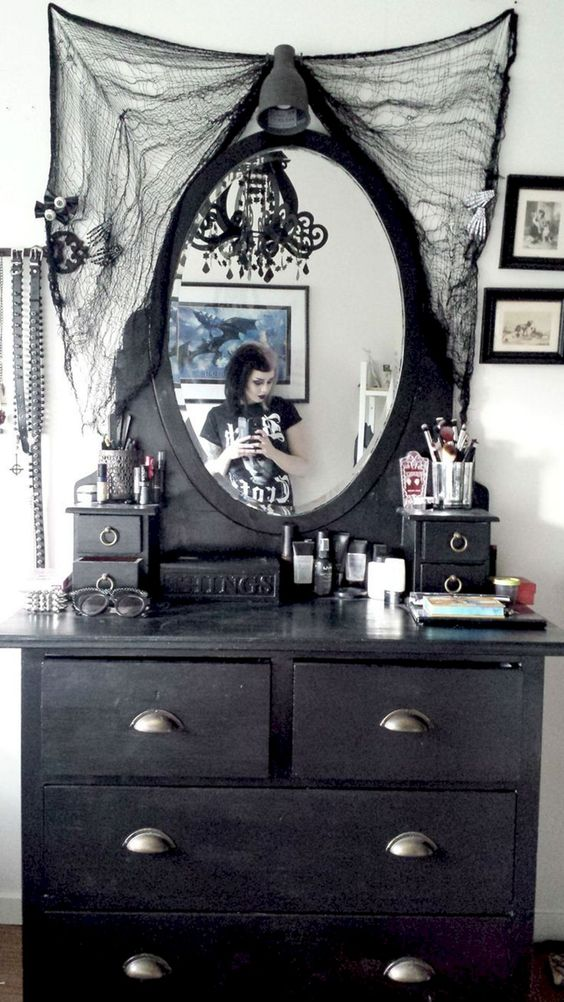 36 Dramatic Home Gothic D 233 Cor Design Ideas That Reek Of Boldness