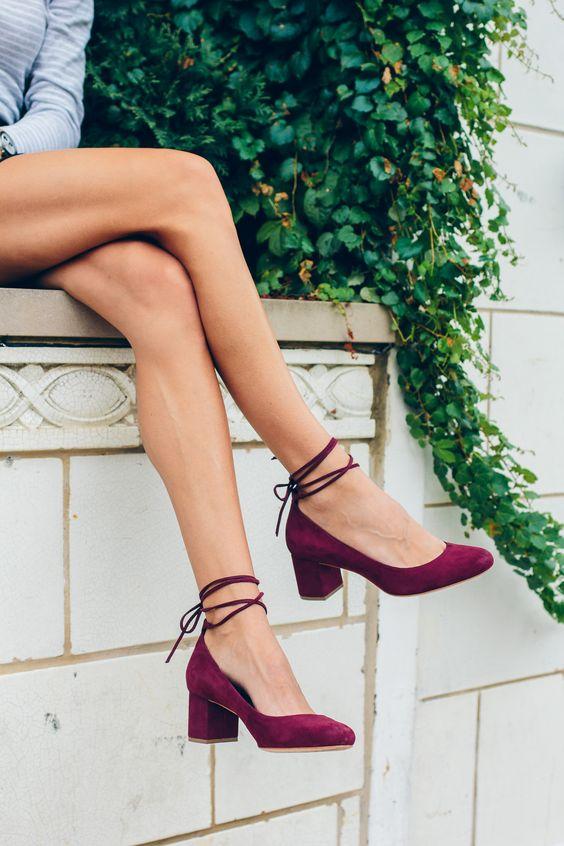 242e5d663d6 36 Sophistically-Suave Block Heels for Stylish Women that Exudes ...