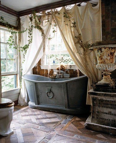 45 Alluring Bohemian Bathroom Designs That Make The Space