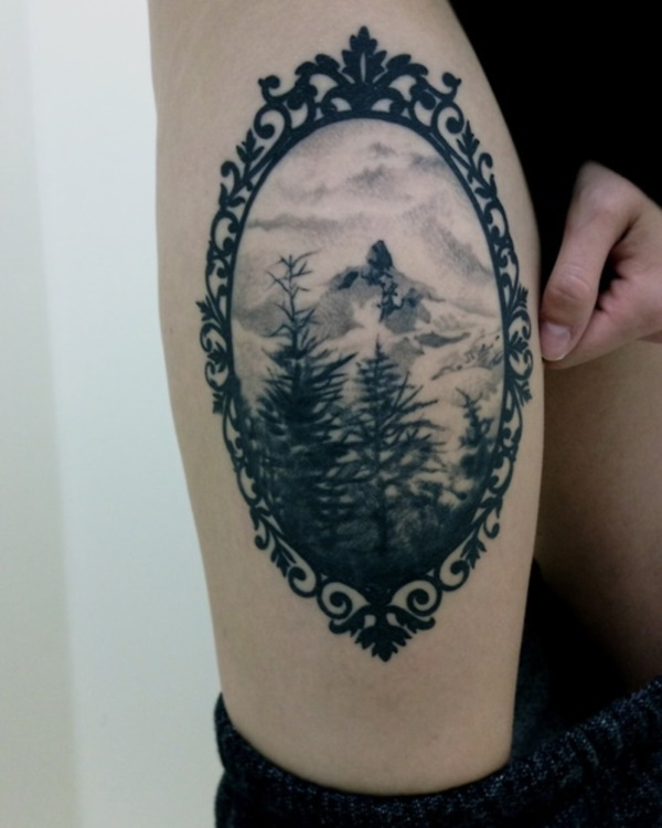 1f0ed5843 42 Simple yet Stylish Nature Tattoos for the Free Spirited Nature Junkie