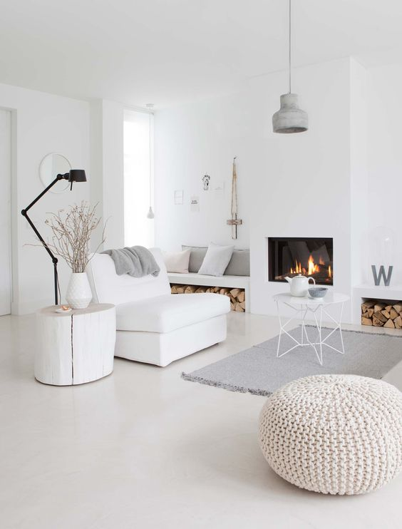 Nordic Living Room Design Ideas 2018