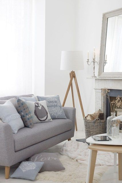 Nordic Winter - Living Room Design Ideas