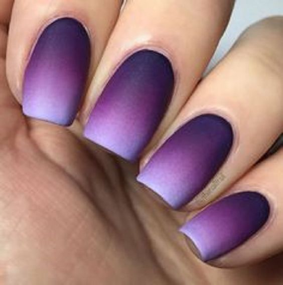 30 Phenomenal Ombre Nail Art Designs That Are Simply Out Of This World