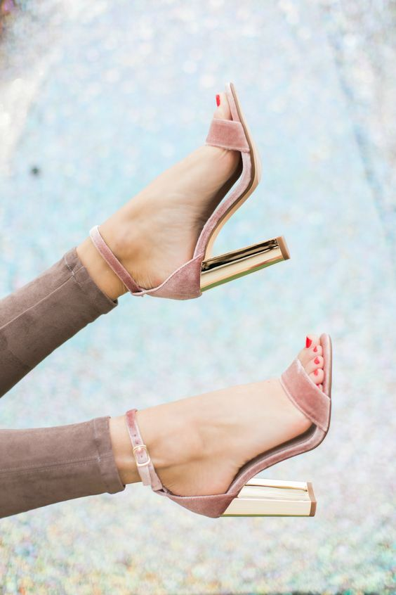 36 Sophistically Suave Block Heels For Stylish Women That
