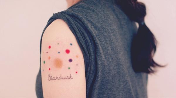 Stardust tattoo