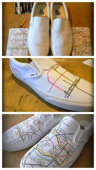 35 Amazing Diy Shoe Decorating Ideas To Get A Unique