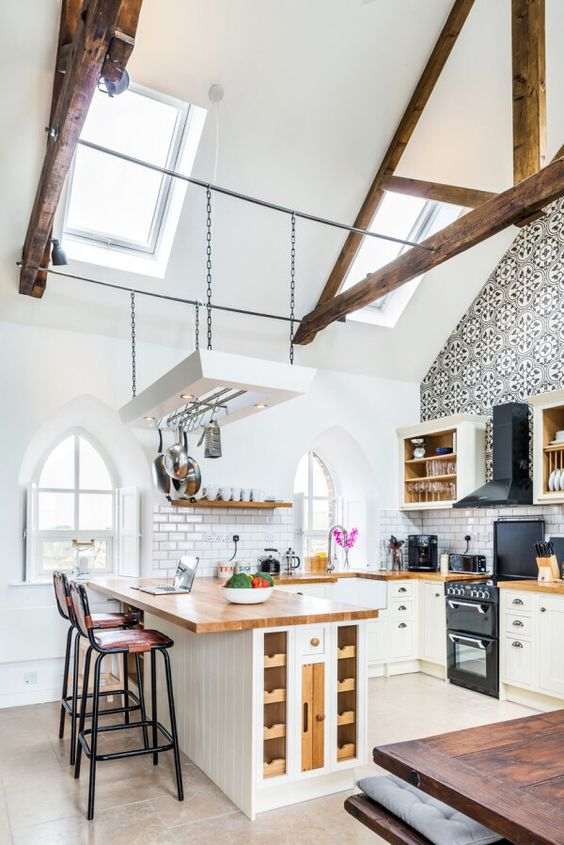 Loft Kitchen Design Ideas That Are As Cool To Look At As They Are  Inexpensive
