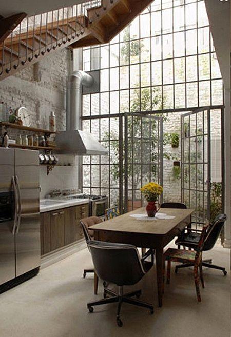 30 Inexpensive And Convenient Loft Kitchen Design Ideas