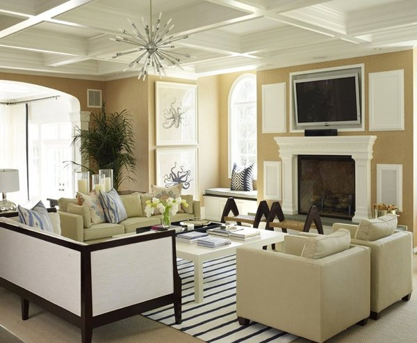 40 Elegant Beige Living Room Ideas That Are Very Catchy To