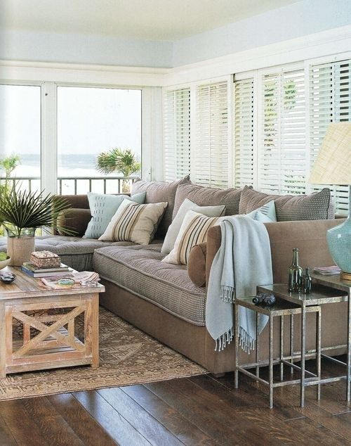 ... Yummy Color Scheme That Reads Relaxed Coastal Without Scream I Want A Beach  Themed Room!