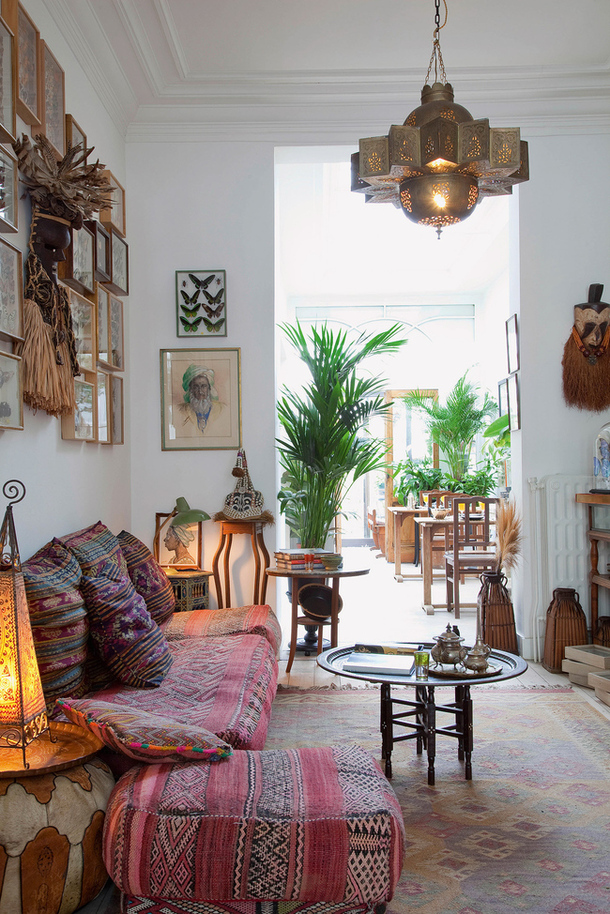... Bohemian Living Room Decor Ideas ...