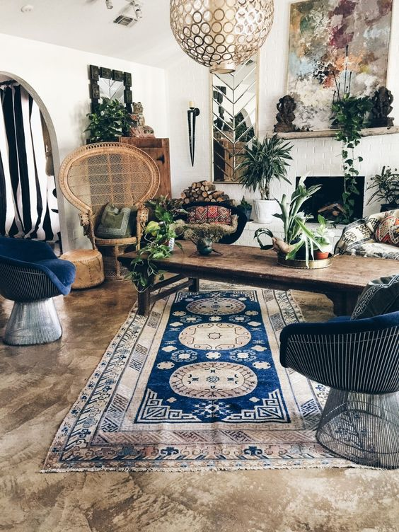 45 Easy Breezy Bohemian Living Room Designs to Ape This Season on Cheap:l2Opoiauzas= Bedroom Ideas  id=25560