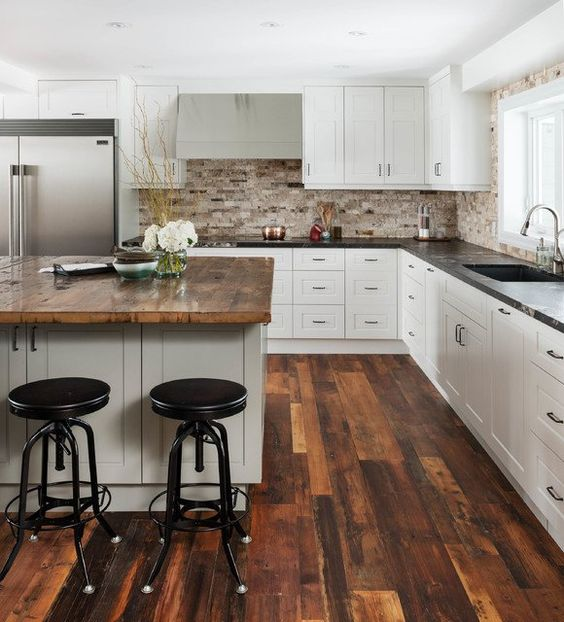 55 Stunning Woodland Inspired Kitchen Themes to Give Your ...