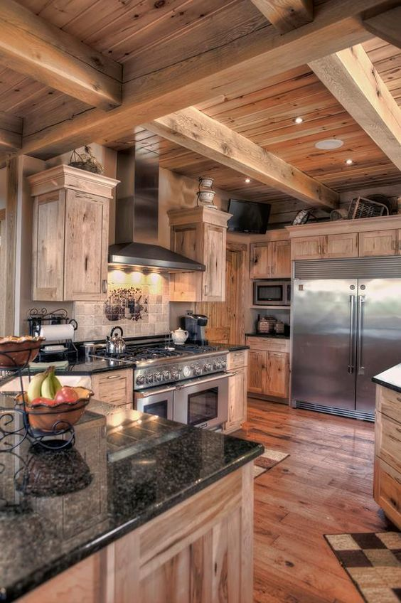 ... Gorgeous Kitchen By Woodland Timberframing ...