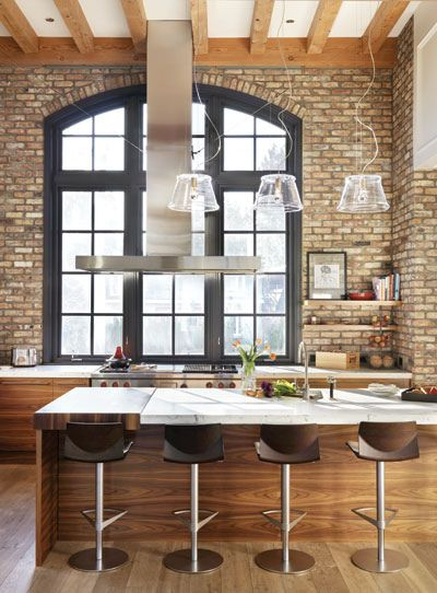 30 Inexpensive And Convenient Loft Kitchen Design Ideas