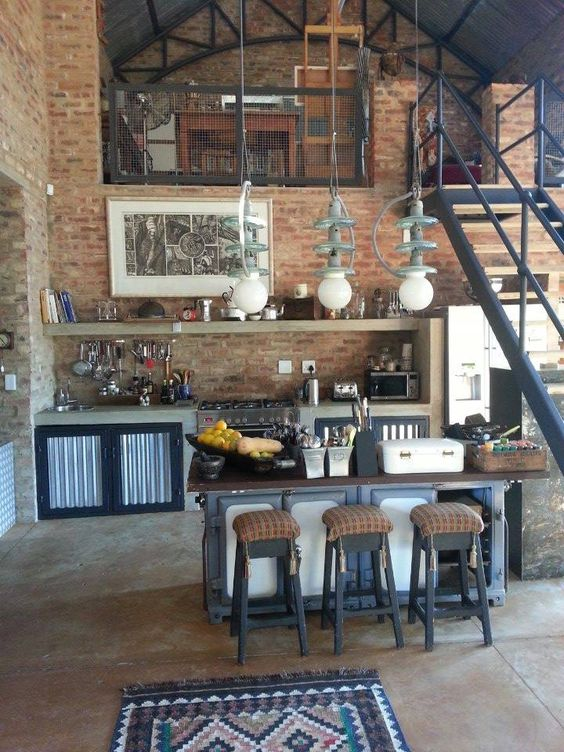 ... Loft Apartment Kitchen Design Ideas ...