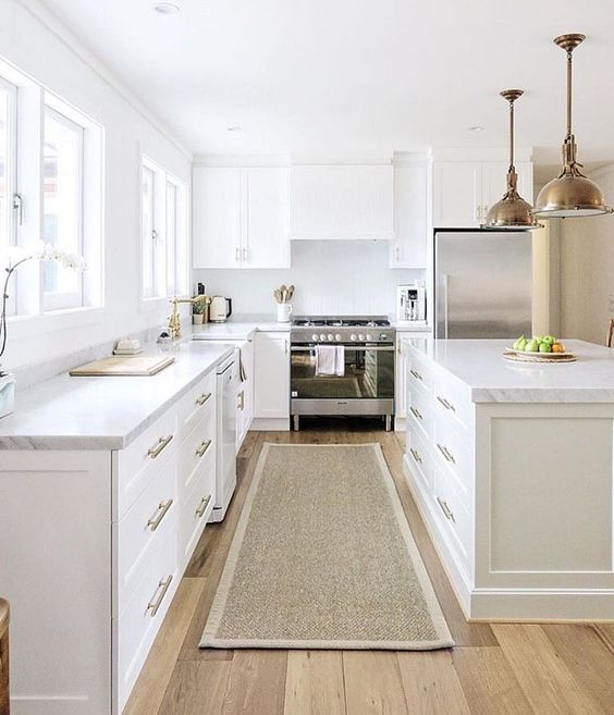 White Kitchen Cabinets Light Floor: 55 Stunning Woodland Inspired Kitchen Themes To Give Your
