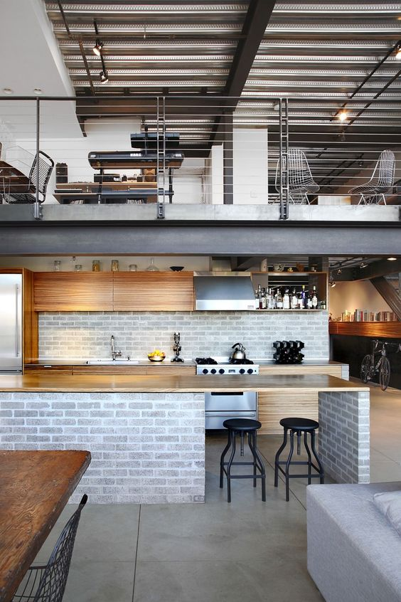 30 Inexpensive and Convenient Loft Kitchen Design Ideas That Are ...
