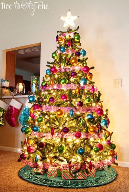 Beautiful Christmas Decorations Tree Decoration Ideas.40 Beautiful Christmas Tree Decoration Ideas