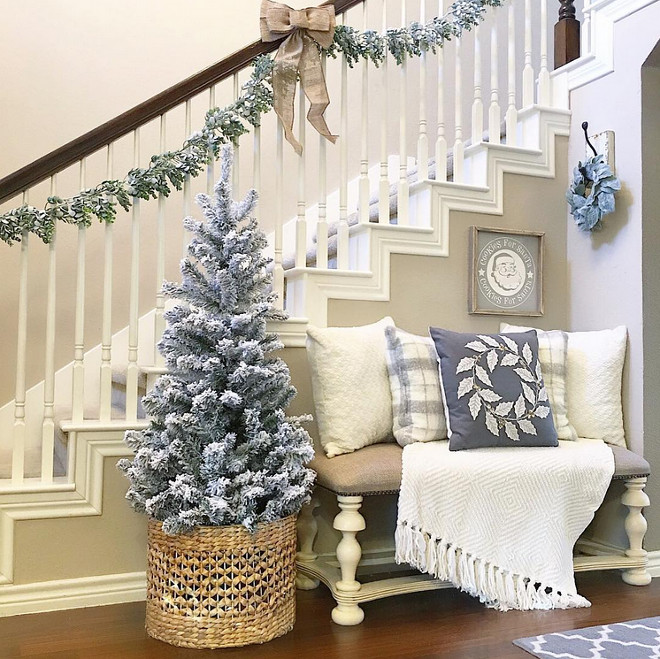 best christmas interior decorating ideas aly mcdaniel via instagram - Best Christmas Decorating Ideas