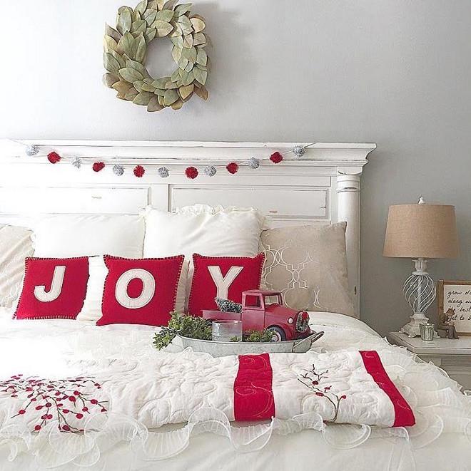Bedroom Christmas Decor ...