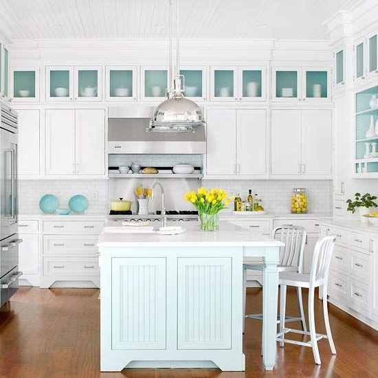 35 Fresh White Kitchen Cabinets Ideas To Brighten Your: 35 Extraordinary White Kitchen Ideas And Designs
