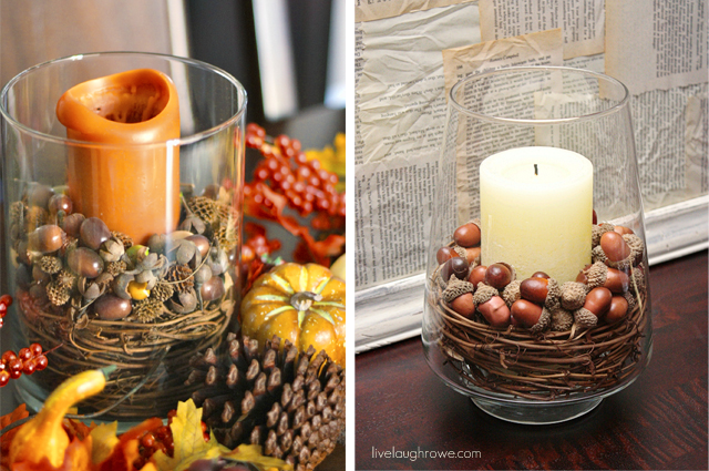 Easy diy thanksgiving decorations ideas