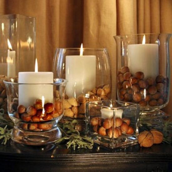 ... Candle Jars Thanksgiving Decor Candles Decor