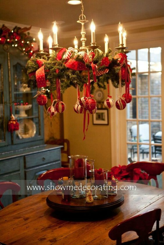 Christmas Decoration Idea For Your Dining Area